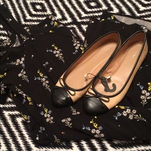 Shoes - New black and cream flats